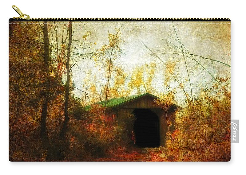 Fall Carry-all Pouch featuring the photograph Late October by Gothicrow Images