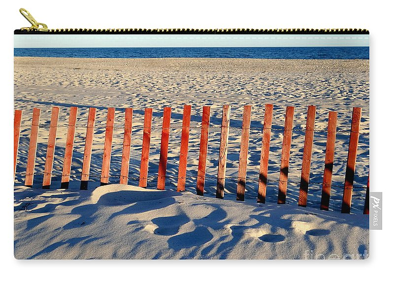 Beach Carry-all Pouch featuring the photograph Late September Afternoon by Ed Weidman