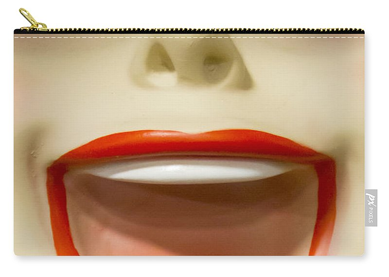 Caucasian Carry-all Pouch featuring the photograph Laughter by Margie Hurwich