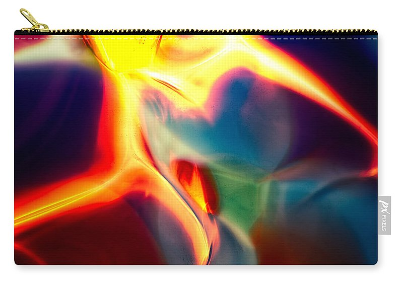 Glass Carry-all Pouch featuring the photograph Lava by Omaste Witkowski