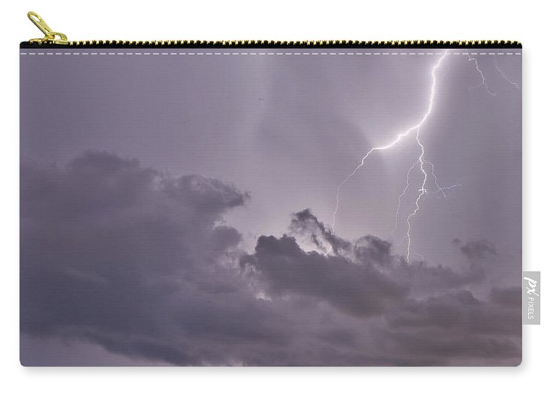Florida Carry-all Pouch featuring the photograph Lavender Lace by Stephen Whalen