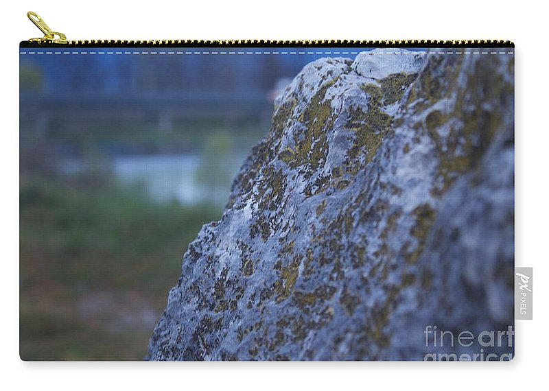 Rock Carry-all Pouch featuring the photograph Lay On My Hidden Rock by Donato Iannuzzi
