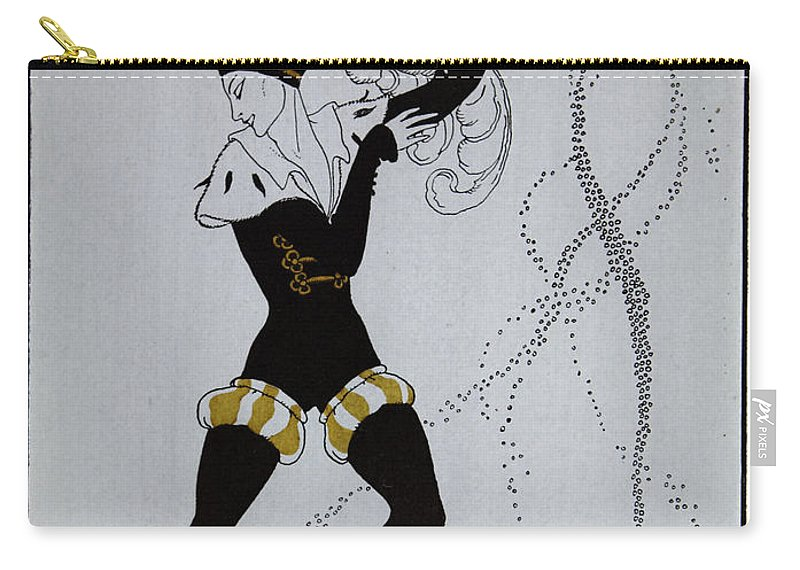 Ballet Carry-all Pouch featuring the painting Le Pavillion D'armider by Georges Barbier