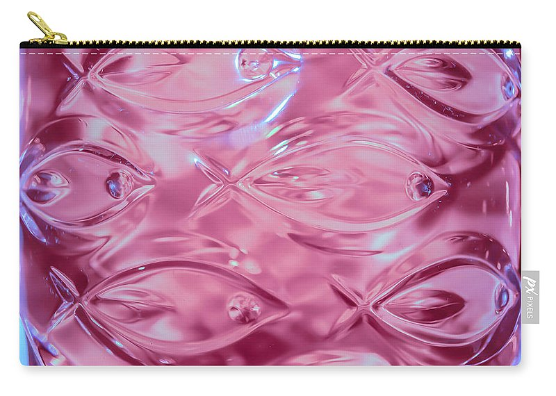 Lead Crystal Vase Carry-all Pouch featuring the photograph Lead Crystal Vase 2 by Sherman Perry
