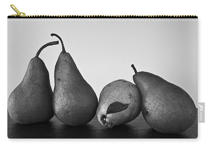 Pears Carry-all Pouch featuring the photograph Lean On Me by David Pantuso
