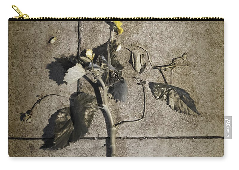 Dead Carry-all Pouch featuring the photograph Left For Dead by Margie Hurwich