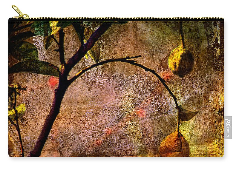 Lemon Carry-all Pouch featuring the photograph Lemon Tree by Roberto Pagani