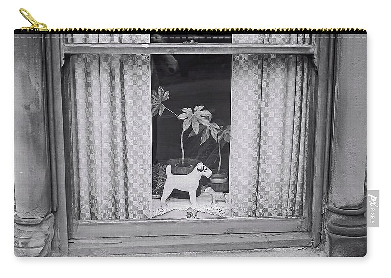 Doggie Carry-all Pouch featuring the painting Lenton Boulevard by Charles Stuart