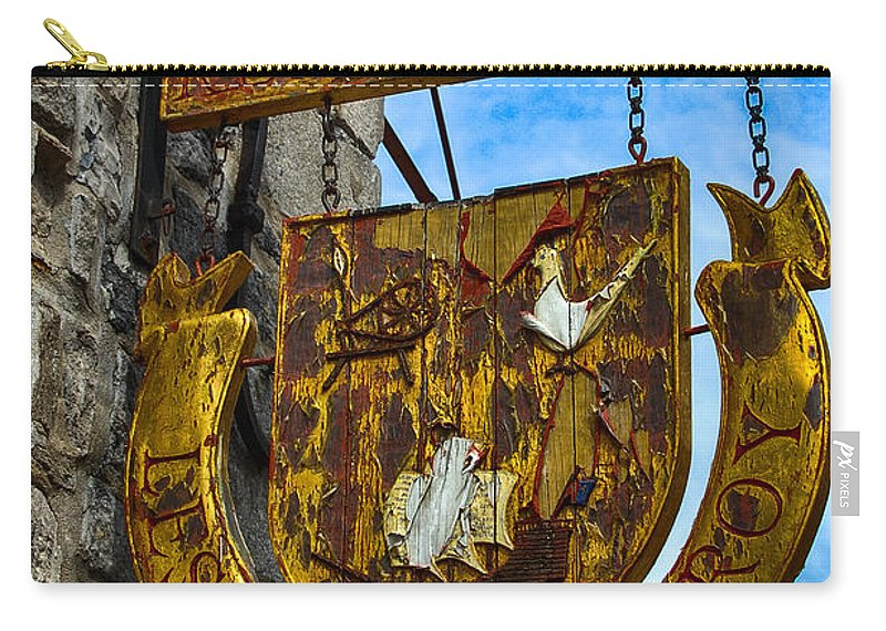 Sign Carry-all Pouch featuring the photograph Les Filles Du Roy by Bianca Nadeau