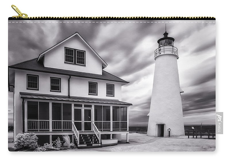 Infrared Carry-all Pouch featuring the photograph Let There Be Light by Edward Kreis
