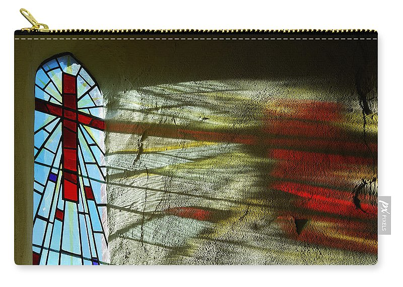 Let There Be Light Carry-all Pouch featuring the photograph Let There Be Light by Wendy Wilton