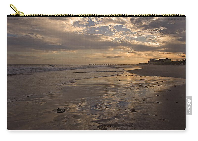 Topsail Carry-all Pouch featuring the photograph Let's Walk This Evening by Betsy Knapp