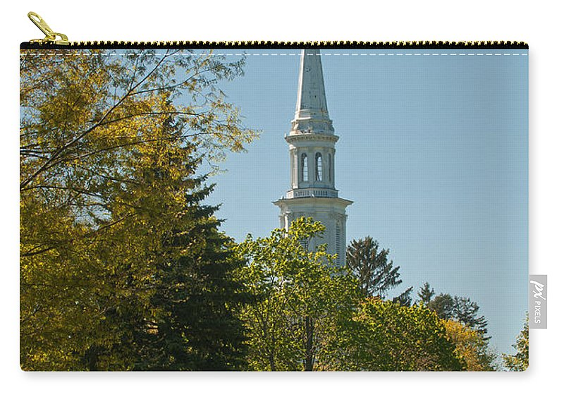 lexington Battlefield Carry-all Pouch featuring the photograph Lexington Battlefield by Paul Mangold