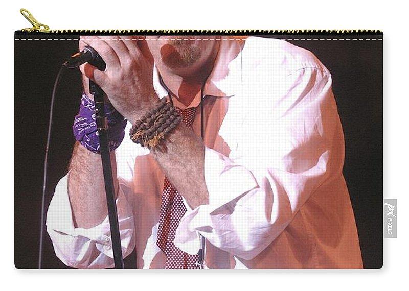 Musician Carry-all Pouch featuring the photograph Lief Garrett by Concert Photos