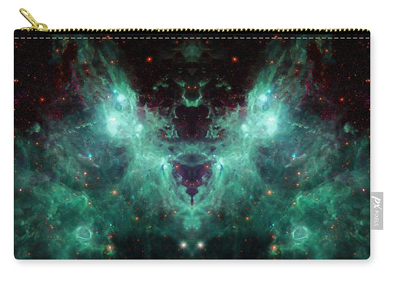 Nasa Images Carry-all Pouch featuring the photograph Life And Death Of Stars 2 by Jennifer Rondinelli Reilly - Fine Art Photography