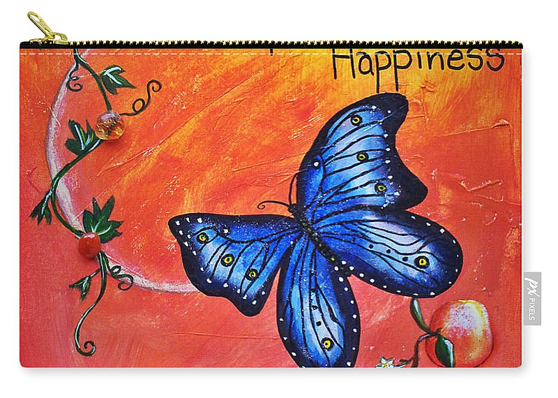 Life Carry-all Pouch featuring the painting Life - Healing Art by Absinthe Art By Michelle LeAnn Scott