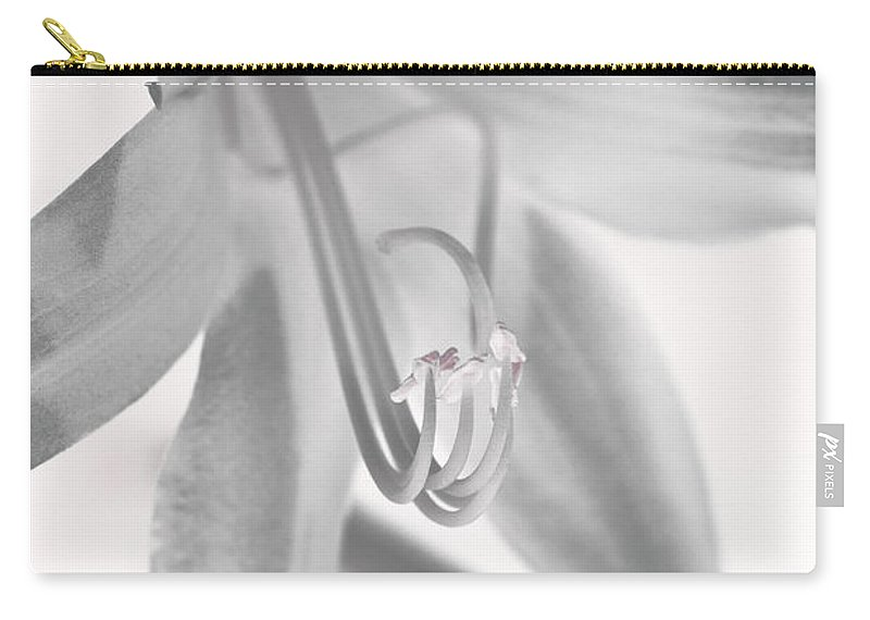 Flower Carry-all Pouch featuring the photograph Life In Miniature by Paul Watkins