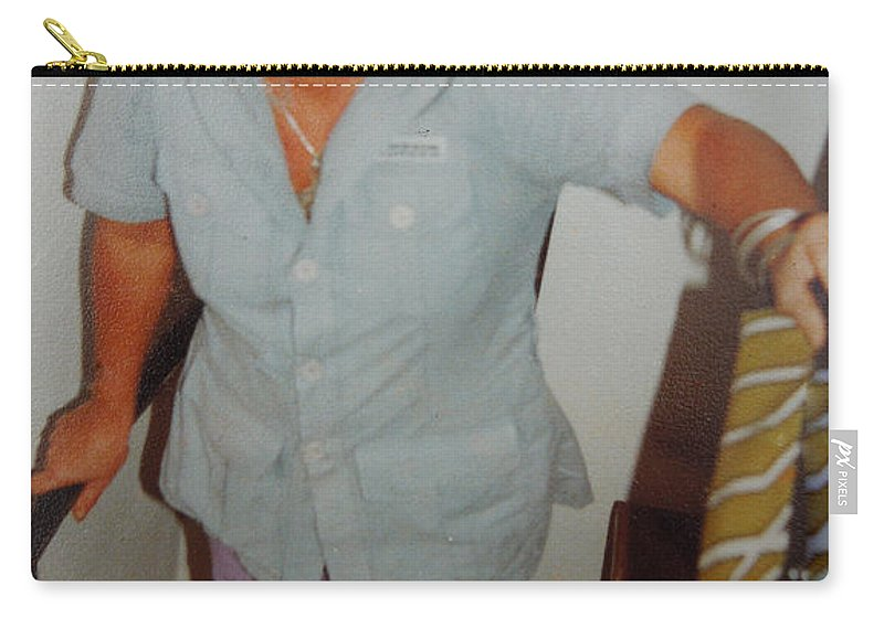Colette Carry-all Pouch featuring the photograph Life Traveller Mum Chris by Colette V Hera Guggenheim