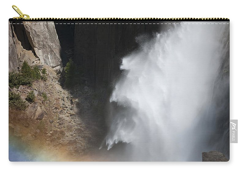 California Carry-all Pouch featuring the photograph Light And Water - Yosemite Falls by Sandra Bronstein