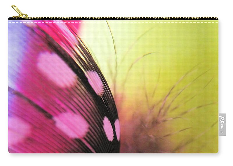 Feather Carry-all Pouch featuring the photograph Light As A Feather by Robyn King