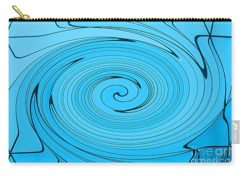 Light Blue Carry-all Pouch featuring the photograph Light Blue by Steve Purnell