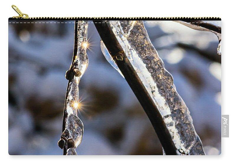 Steve Harrington Carry-all Pouch featuring the photograph Light Chimes 2 by Steve Harrington