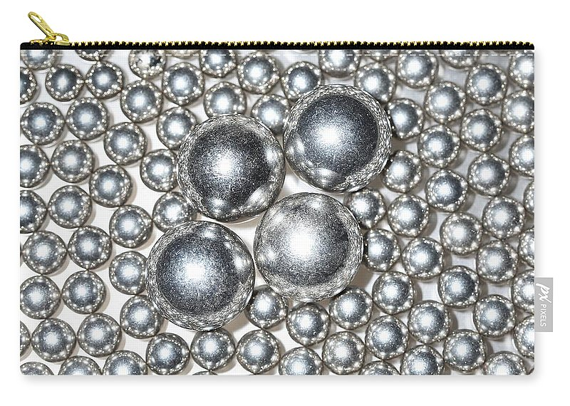 Ball Carry-all Pouch featuring the photograph Light Chrome by David Andersen