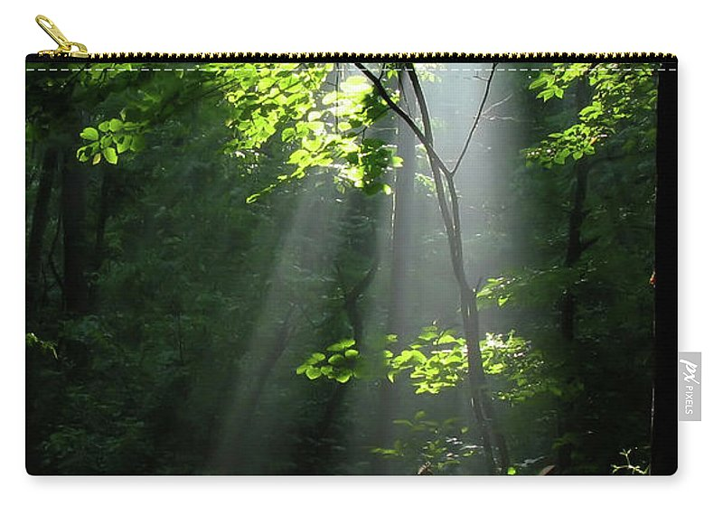 Light Carry-all Pouch featuring the photograph Light by Douglas Stucky