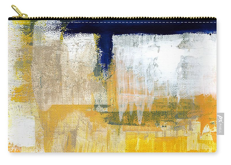 Abstract Carry-all Pouch featuring the painting Light Of Day 2 by Linda Woods