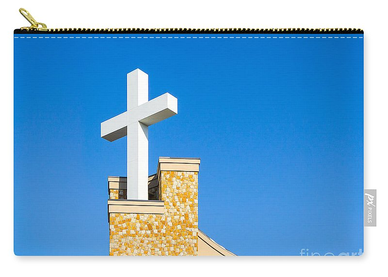 Sunday Carry-all Pouch featuring the photograph Light Of Hope by John Waclo
