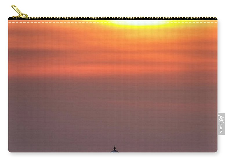 Lighthouse Carry-all Pouch featuring the photograph Light The Way by Edward Kreis
