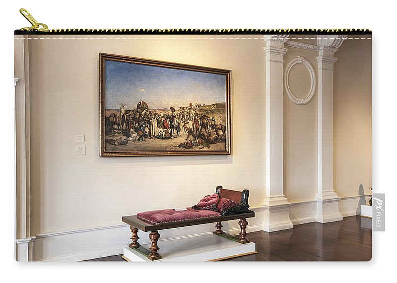Lightner Museum Carry-all Pouch featuring the photograph Lightner Museum 6 by Rich Franco