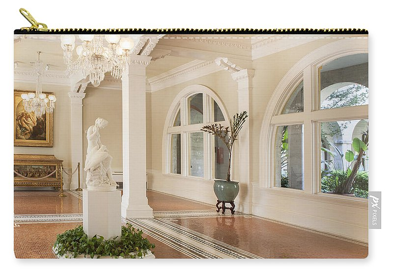 Lightner Museum Carry-all Pouch featuring the photograph Lightner Museum 9 by Rich Franco