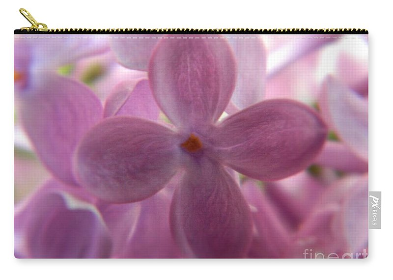 Syringa Carry-all Pouch featuring the photograph Lilac Bloom by K L Roberts