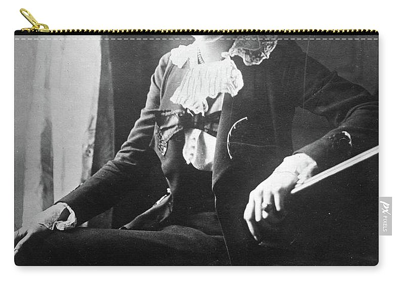 1918 Carry-all Pouch featuring the photograph Lili Boulanger (1893-1918) by Granger