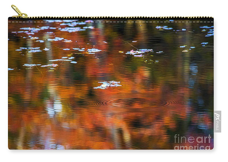 Lily Carry-all Pouch featuring the photograph Lily Pads by Alana Ranney
