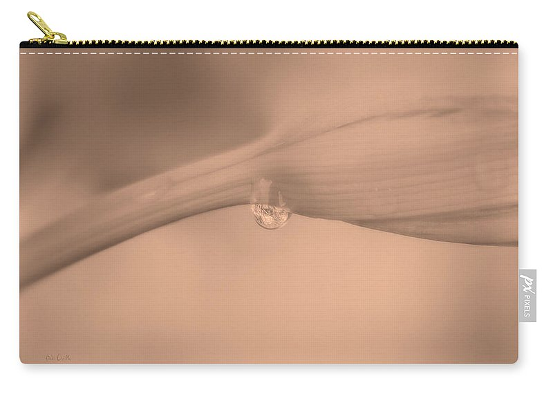 Flower Carry-all Pouch featuring the photograph Lily Impressions Two by Bob Orsillo