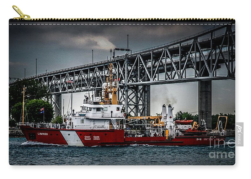 Canada Carry-all Pouch featuring the photograph Limnos Coast Guard Canada by Ronald Grogan
