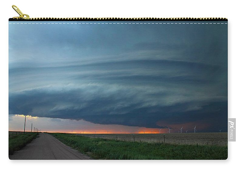 Limon Carry-all Pouch featuring the photograph Limon Mothership 1 by Marcelo Albuquerque