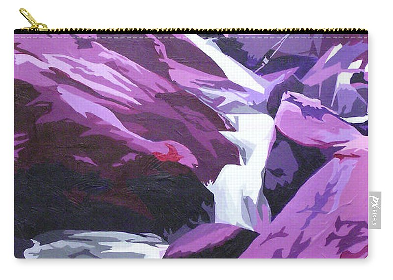 Creek Carry-all Pouch featuring the painting Limpy Creek by Joshua Morton