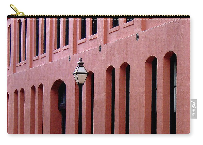 Abstract Carry-all Pouch featuring the photograph Linear by Rodney Lee Williams