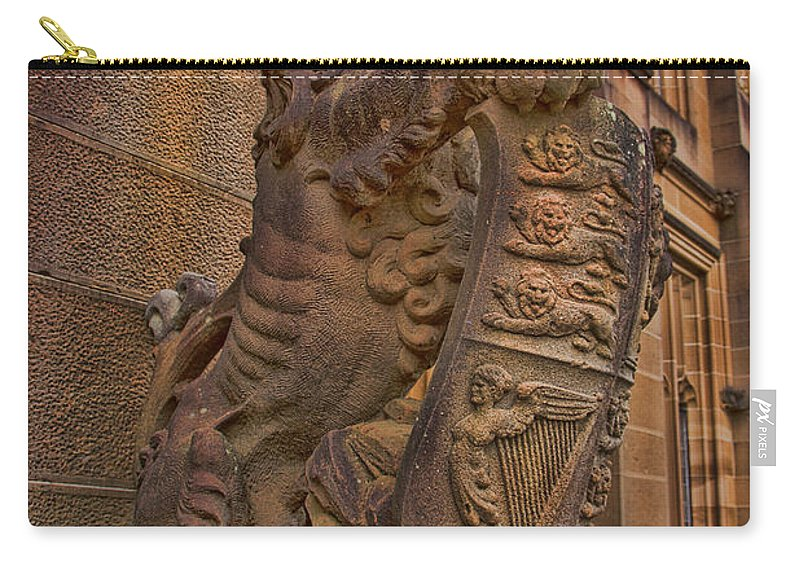 University Of Sydney Carry-all Pouch featuring the photograph Lions Head by Douglas Barnard
