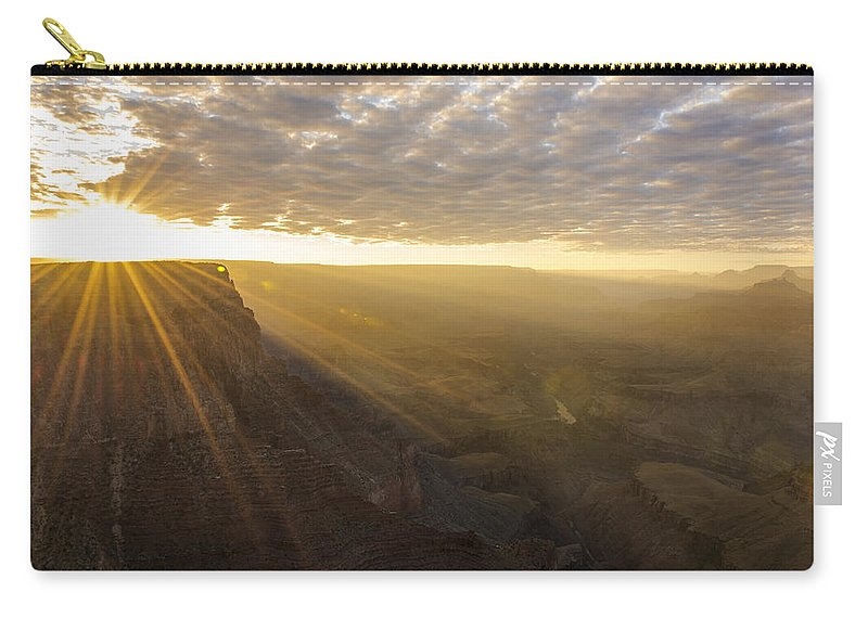 Lipon Point Sunset Grand Canyon National Park Arizona Az Carry-all Pouch featuring the photograph Lipon Point Sunset 2 - Grand Canyon National Park - Arizona by Brian Harig