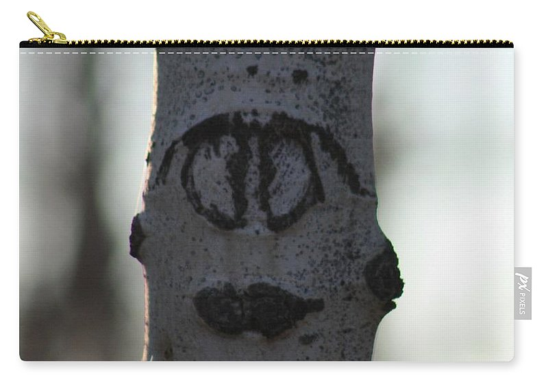 Smiley Faces Carry-all Pouch featuring the photograph Lips by Brandi Maher