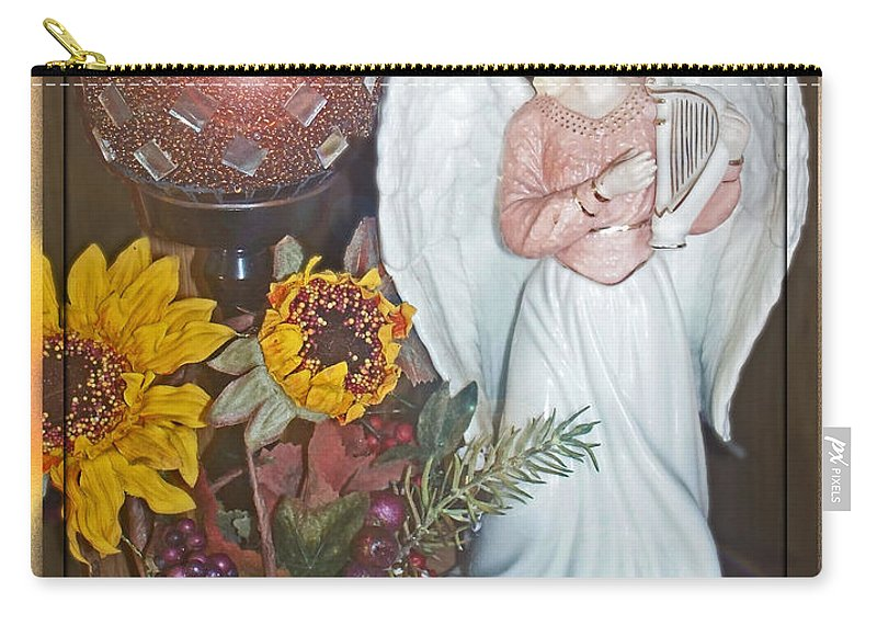 Still Life Carry-all Pouch featuring the photograph Little Angle by Debbie Portwood
