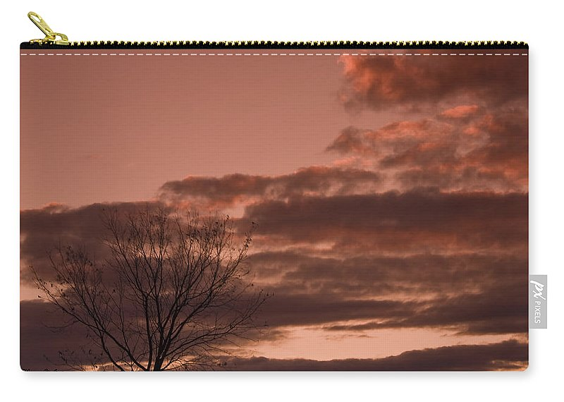 Sunset Carry-all Pouch featuring the photograph Little Girl Blue - In Memory Of Karen by Hany J
