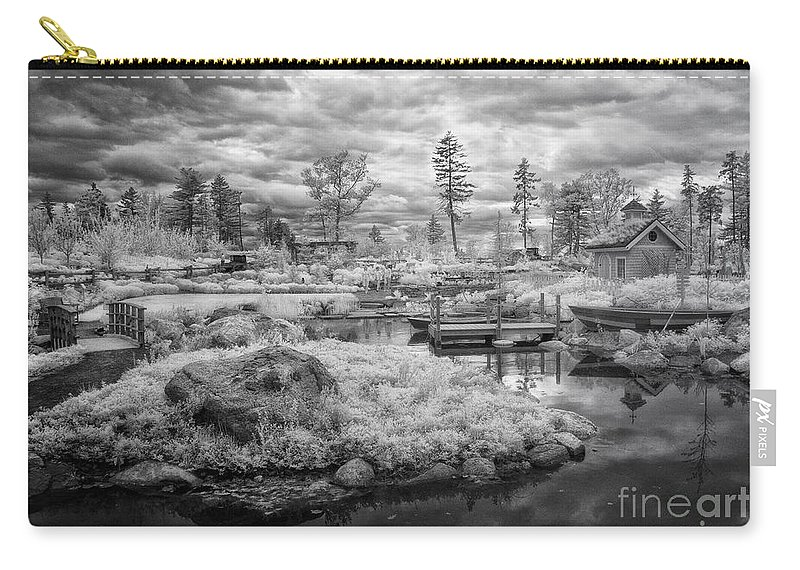 Ir Carry-all Pouch featuring the photograph Little Island by Claudia Kuhn