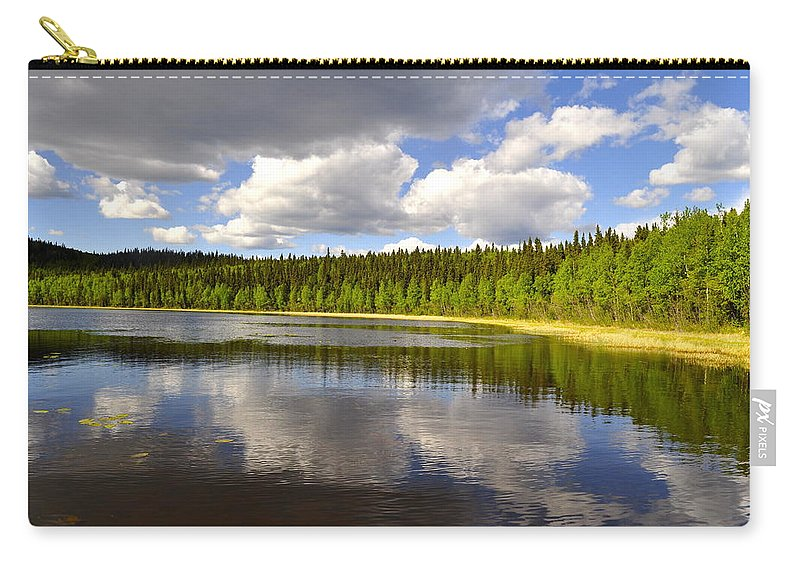 Lake Carry-all Pouch featuring the photograph Little Lost Lake by Cathy Mahnke