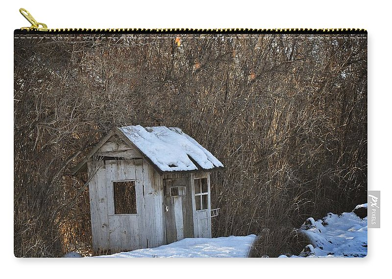 Play House Carry-all Pouch featuring the photograph Little Play House by Image Takers Photography LLC