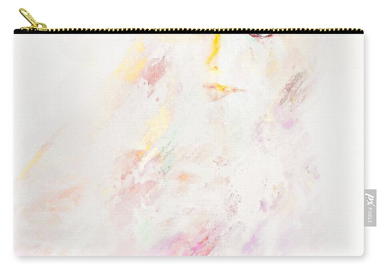 Portrait Carry-all Pouch featuring the digital art Livingston by Galen Valle